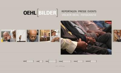 Oehlbilder.com. Flash website for a photographer.