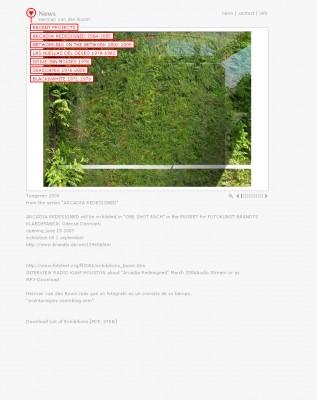HermanVandenboom.net. Website for the photo artist Herman van den Boom.