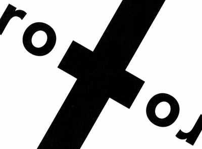 Rotor. Egy nagyon szép tipográfia feladata az első félévben.