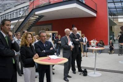 Ausstellungseröffnung ZIRP, Railion Mainz, 06. September 2007