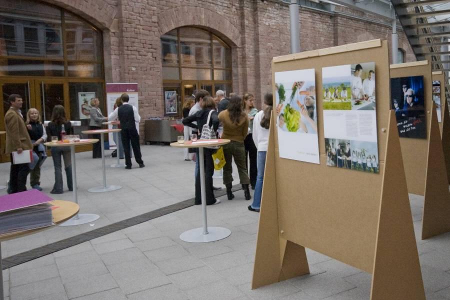 A kiállítást megnyitja ZIRP, Railion Mainz, szeptember 6, 2007
