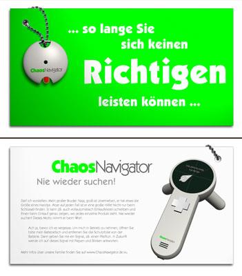 ChaosNavigator. Ein Suchgerät für die eigene Umgebung.