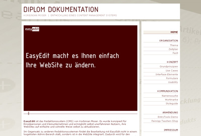 Diploma. Topic CMS, processing until November 2008