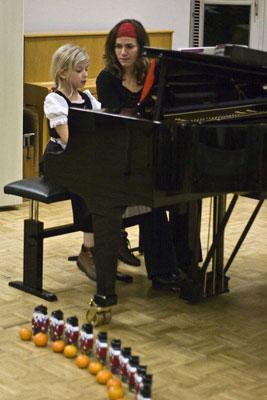 Osztály előjáték. Akademie für Tonkunst Darmstadt, december 12, 2008