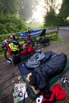 Hungary bike tour. 2400 km to lake Balaton and back, summer 2009