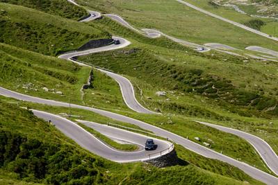 Acht-Länder-Liegerad-Tour. Schwanger über die Alpen, Sommer 2010