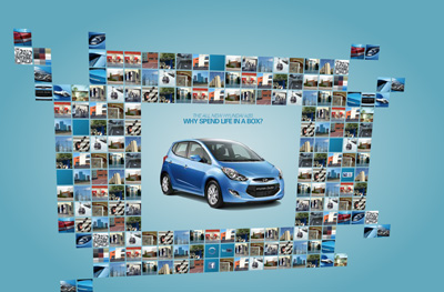 Hyundai ix20. Flash microsite.