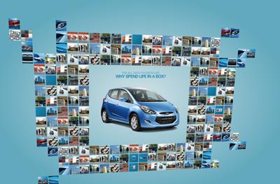 Hyundai ix20. Flash microsite.
