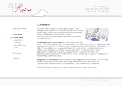 IlluAnima.de. WebSite for the illustrator Volkmar Döring.