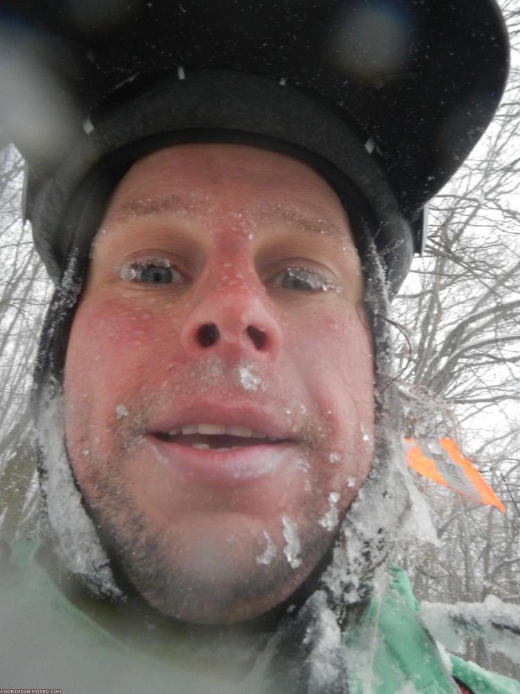 Alpen Winter Tour. Drei Pässe und Schneegestöber, März 2013