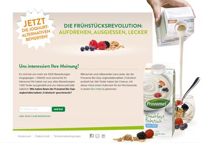 Provamel-Tester.de. Testaktion für die Provamel Joghurtalternative
