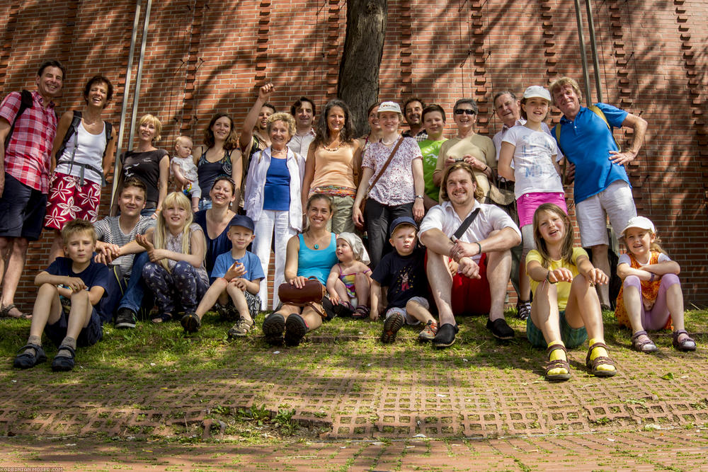 Moser family reunion, Cologne, 06-07th July 2013