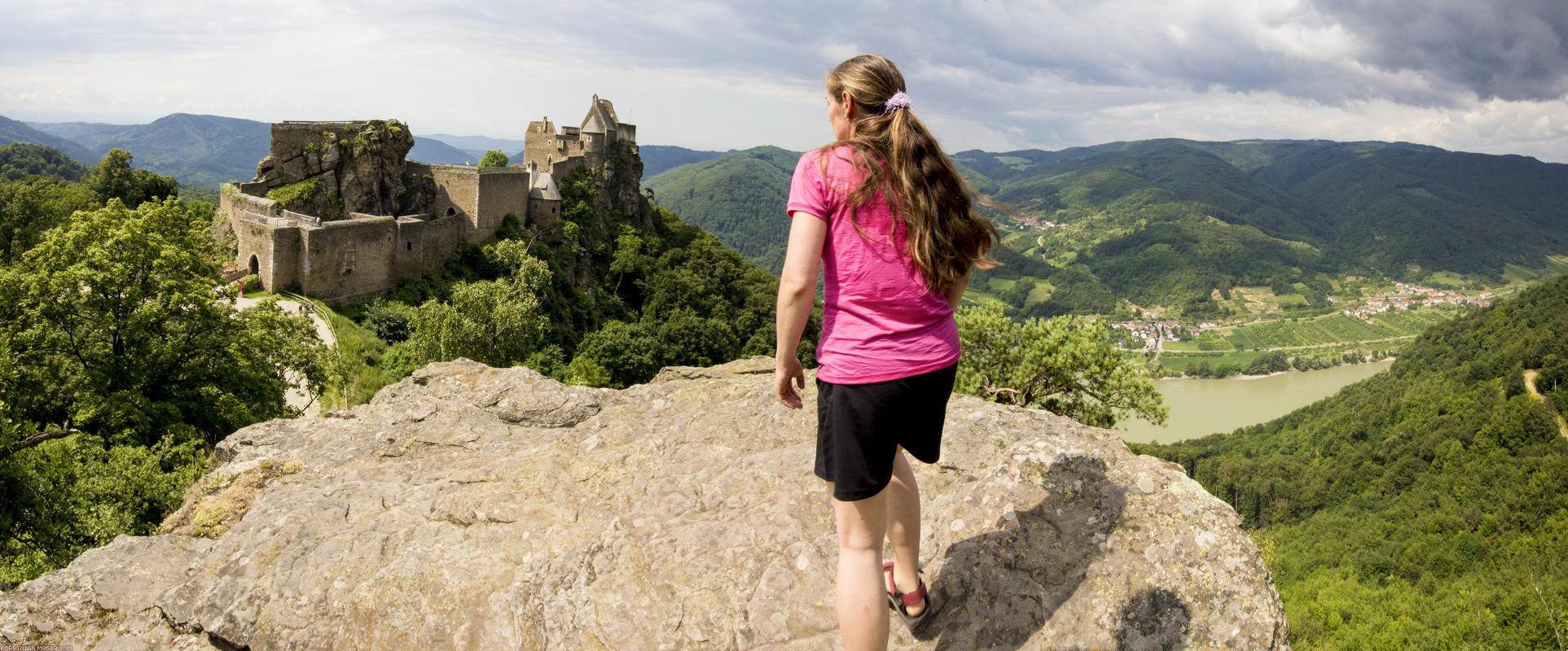 Welterbesteig. Wachau-Wanderung im Juli 2013
