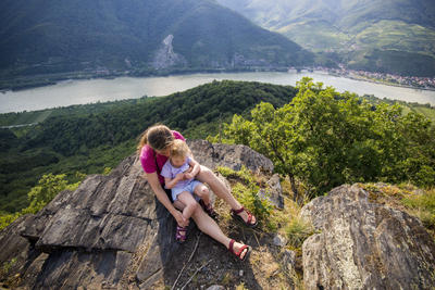 World Heritage Trail. Wachau-hike in July 2013