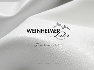 Weinheimer-Leder.com. ModX WebSite for the germ-cell of the Freudenberg concern.