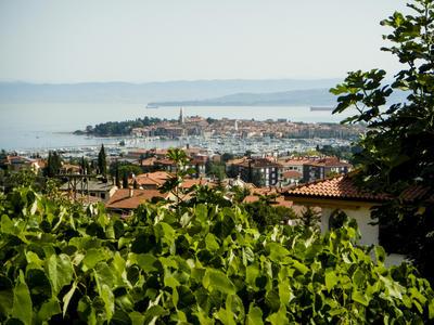 Lijepa Istra. Hegység és az Adriai-tenger horvátorszáon, július 2013