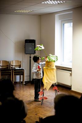 Diák koncert. Önkormányzat Bonifác, Mainz, március 15, 2014.