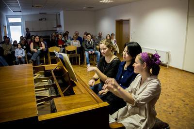 Student concert. Municipality of Boniface, Mainz, 15th March 2014