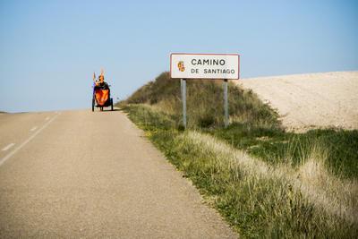Camino de Santjátszó. Heavy-load pilgrimage in April-May 2014.