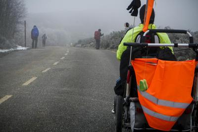 Camino de Santjátszó. Nehéz zarándokok áprilisban és májusban 2014.