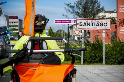Camino de Santjátszó. Schwerlastpilgern im April-Mai 2014.