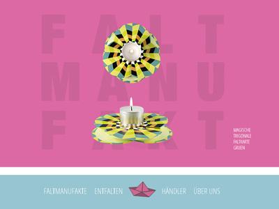 Faltmanufakt.de. With and for Kirstin Hövermann.