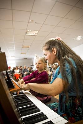 Student concert. Municipality of Boniface, Mainz, 2nd May 2015